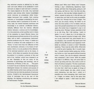 Condition of Illusion print